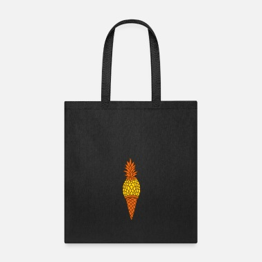 Diet waffle croissant ice cream delicious hunger food p - Tote Bag