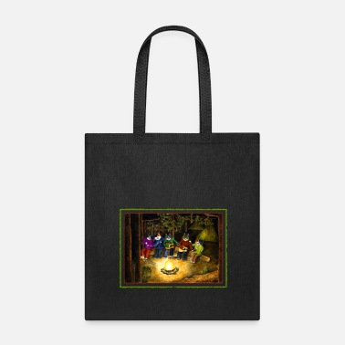 Camp Fire By the camp fire - Tote Bag