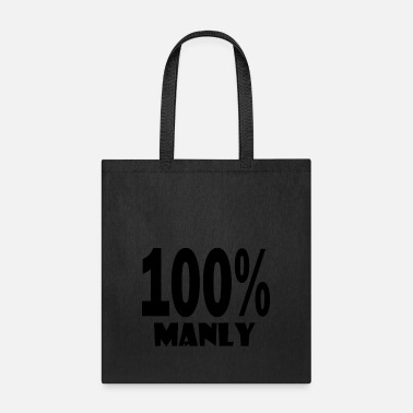 Manly 100 manly - Tote Bag