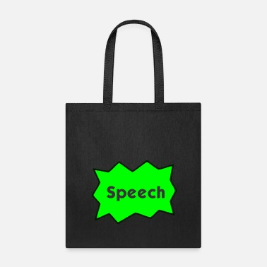 Speech Bubble Speech Bubble - Tote Bag