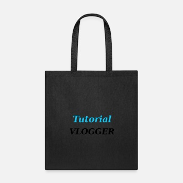 Vlogger Tutorial Vlogger - Tote Bag