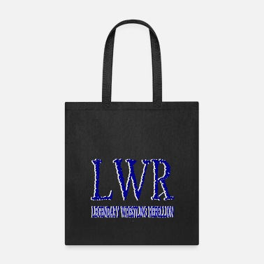 Blue White LWR Blue and White Logo - Tote Bag