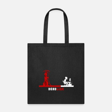 Grimm Grim Reaper and Programmer Deadline - Tote Bag