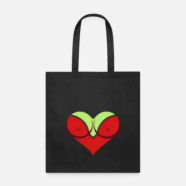Cleavage Heart-shaped Woman's Breasts With Deep Cleavage - Tote Bag
