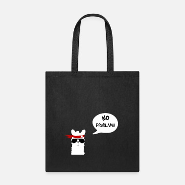 Peru No Problama Lama white - Tote Bag