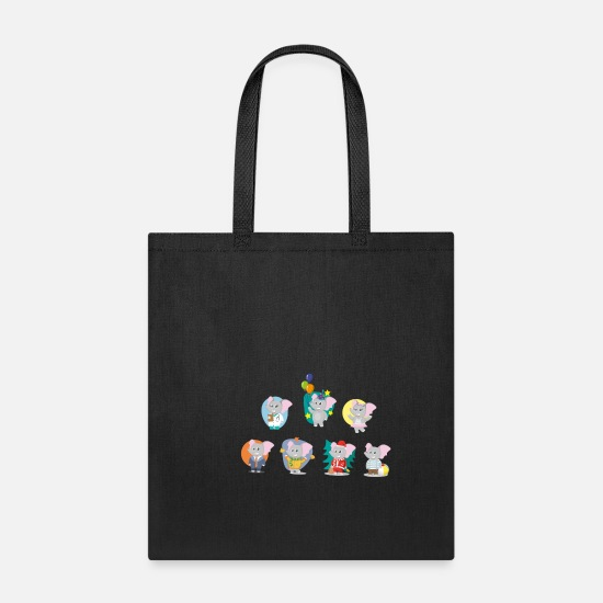 Set Bags & Backpacks - Kidding - Tote Bag black
