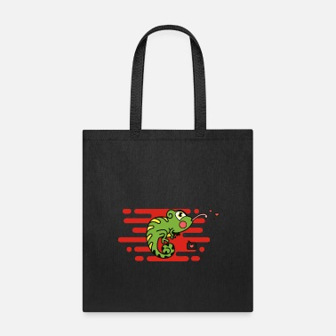 Stick Out Chameleons stick out the tongue - Tote Bag