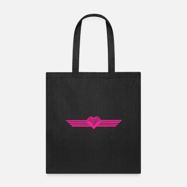 Animo cuore alato - Tote Bag