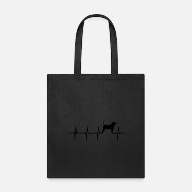 Beagle heartbeat beagle 22 - Tote Bag