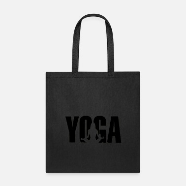 Mantra yoga sitting - Tote Bag