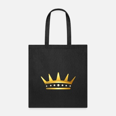 Royalty King golden crown gold vip jewelry jewel fun image - Tote Bag