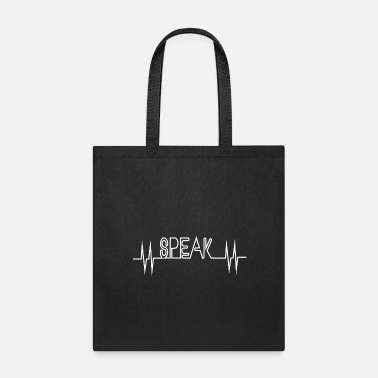 Loud speak loud - Tote Bag