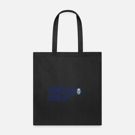 Gift Idea Bags & Backpacks - technology scienc - Tote Bag black