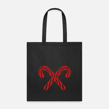 Kreuz cross 2 candy cane x delicious candy sugar sweet h - Tote Bag