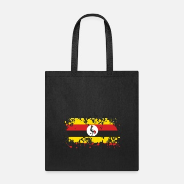 Rich Uganda flag ink - Tote Bag