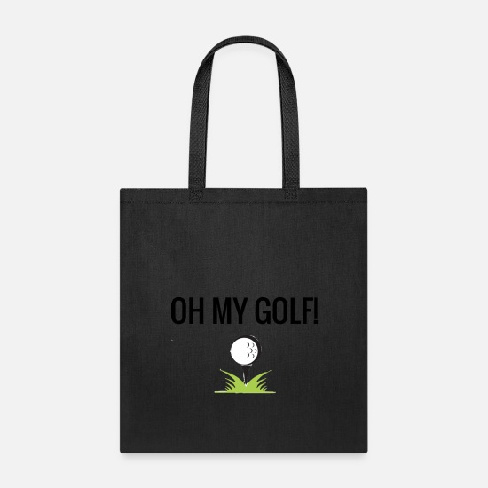Golf Bags & Backpacks - OMG! - Tote Bag black