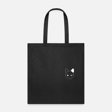 Plain Simple Plain Cat Portrait (small) - Tote Bag