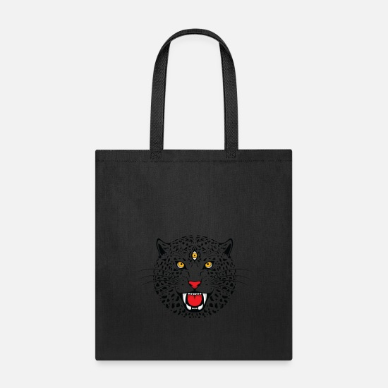 Hindu Bags & Backpacks - Hindu SHirts Cat Horoscope Thinking - Tote Bag black