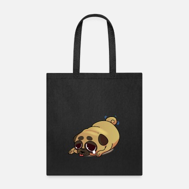 Funny Funny pug cartoon collection 4 - Tote Bag