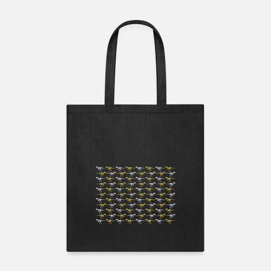 Cretaceous Period Bags & Backpacks - Skeleton - Tote Bag black