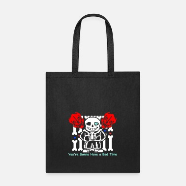 Undertale Undertale Sans Bad Time Game Funny - Tote Bag