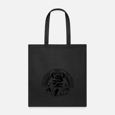 Wolf Of Odin In Odin We Trust Thor Vikings Wolf Wolves Norse - Tote Bag