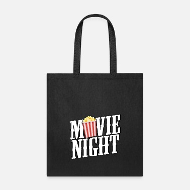 Cinema Movie Night Popcorn Bucket - Funny Theatre Gift - Tote Bag
