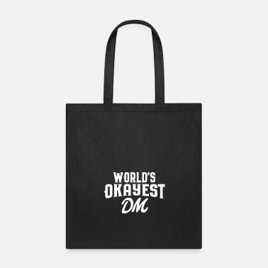 Rpg World's Okayest DM Tabletop RPG - Tote Bag