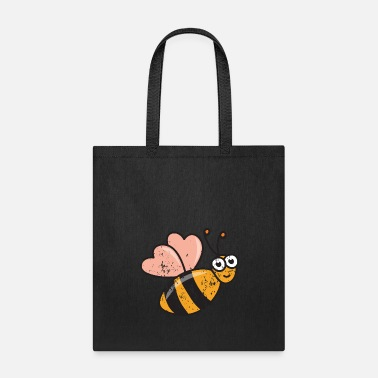 Drawing Retro Vintage Grunge Style Beekeeper Beekeeping - Tote Bag