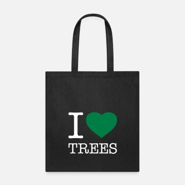 Tree I LOVE TREES - Tote Bag