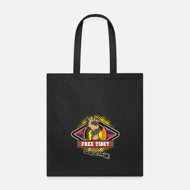 Tibet Free Tibet Chained Hand Freedom - Tote Bag
