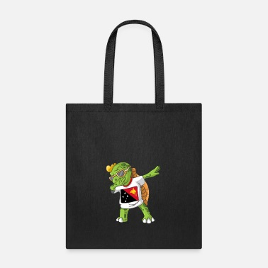 Papua New Guinea Papua New Guinea Dabbing Turtle - Tote Bag