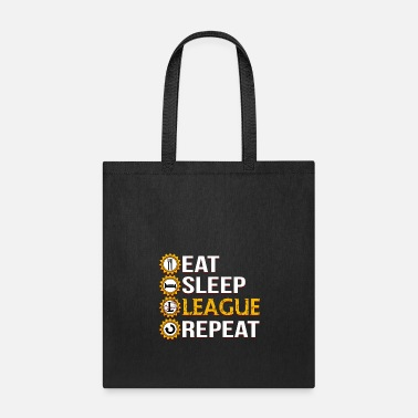 League Of Legends League Of Legends Eat Sleep League Repeat - Tote Bag
