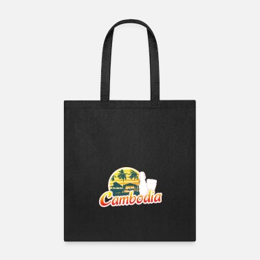 Retirement Cambodia Traveller Travelling Gift For Men And - Tote Bag