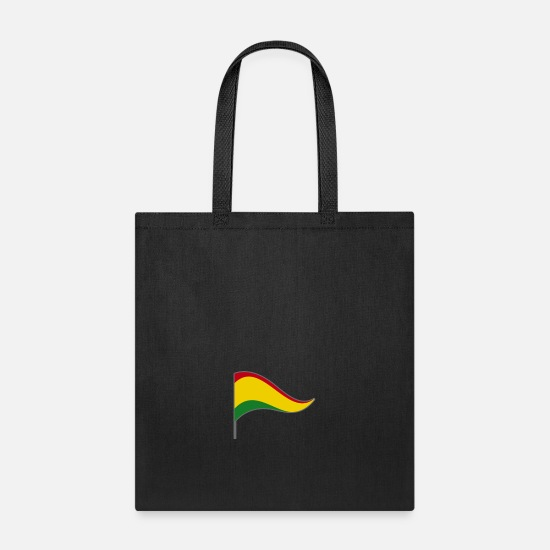 Country Bags & Backpacks - Bolivia South America Flag Banner Flags Ensigns - Tote Bag black