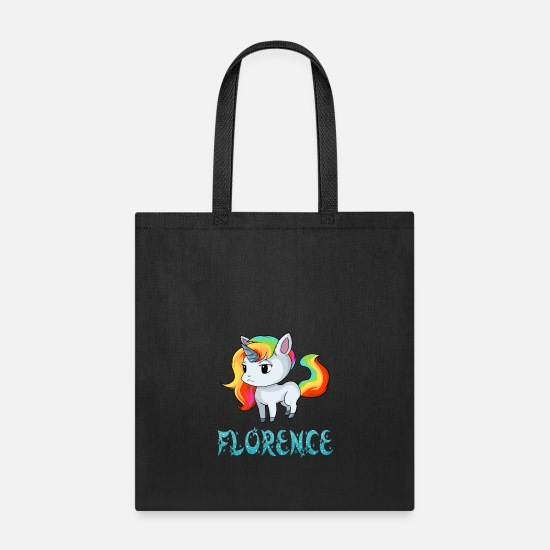 Florence Bags & Backpacks - Florence Unicorn - Tote Bag black