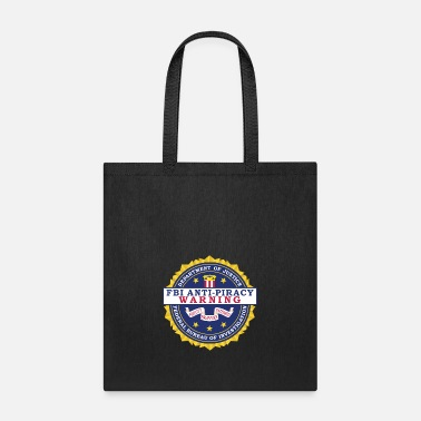Piracy FBI Anti Piracy Warning Seal - Tote Bag