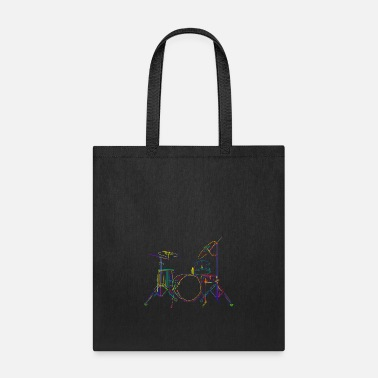 Set Drum Set - Tote Bag