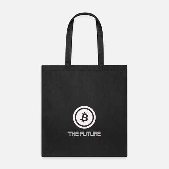 "Future Bags & Backpacks - Bitcoin ""The Future"" - Tote Bag black"