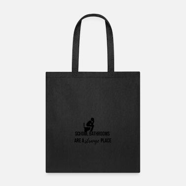 Bathroom School bathrooms - Tote Bag
