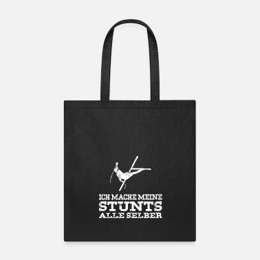 Mountains My stunts white - Tote Bag