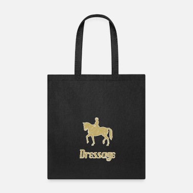 Dressage Horse Dressage ride horses breed horse - Tote Bag