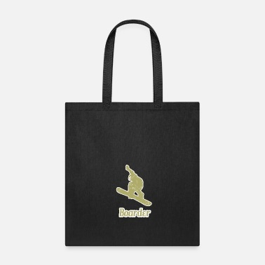 Boarders Snowboarder Boarder - Tote Bag