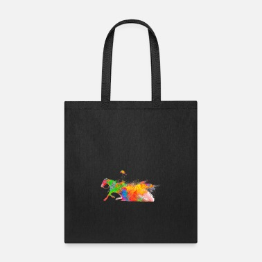 Western Riding riding western riding - Tote Bag