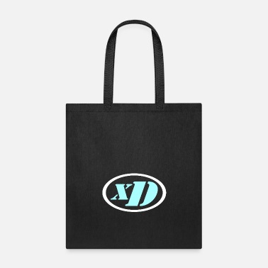 xD Puristic (Cyan-Light/White) - Tote Bag