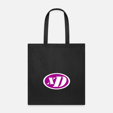 xD Puristic (Pink/White) - Tote Bag