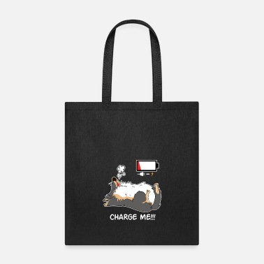 Furry Dog Doglover Corgi dog cute pet funny gift fluffy - Tote Bag