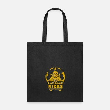 Steaming Steam Locomotive - Tote Bag