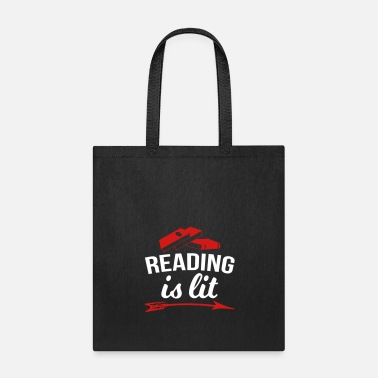 Reading Reading Is Lit - Tote Bag
