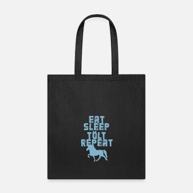 Gallop Icelandic Horse: Pony Merch - Tote Bag
